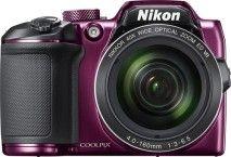 Nikon - COOLPIX B500 16.0-Megapixel Digital Camera - Plum - Larger Front