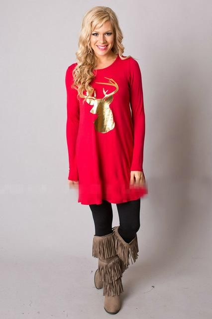 02784255035ee Always wear your own style!  redlove  christmas  dresses  fashion  style