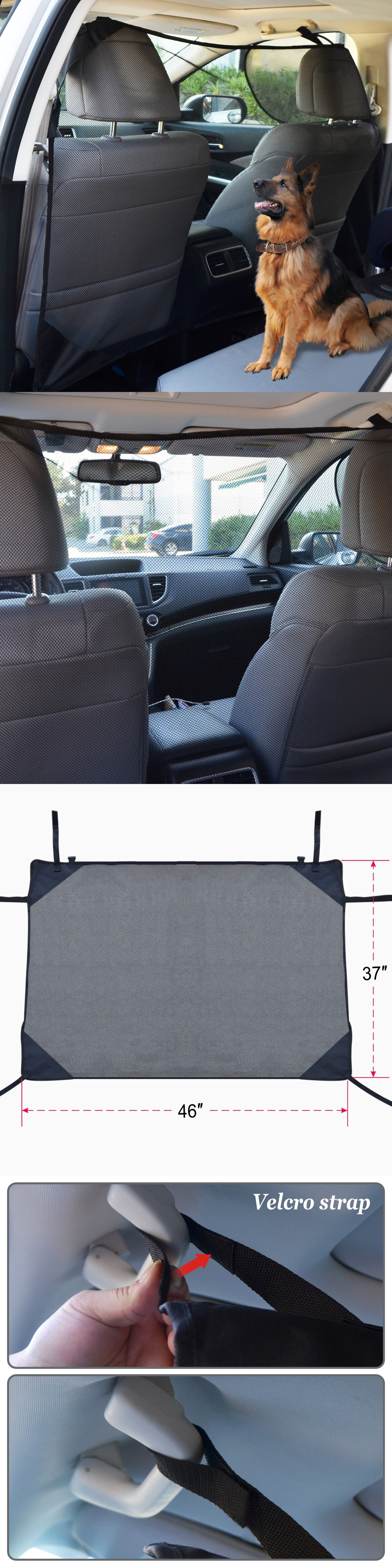 Pet dog car net barrier car mesh obstacle fence fit cars vans suvus