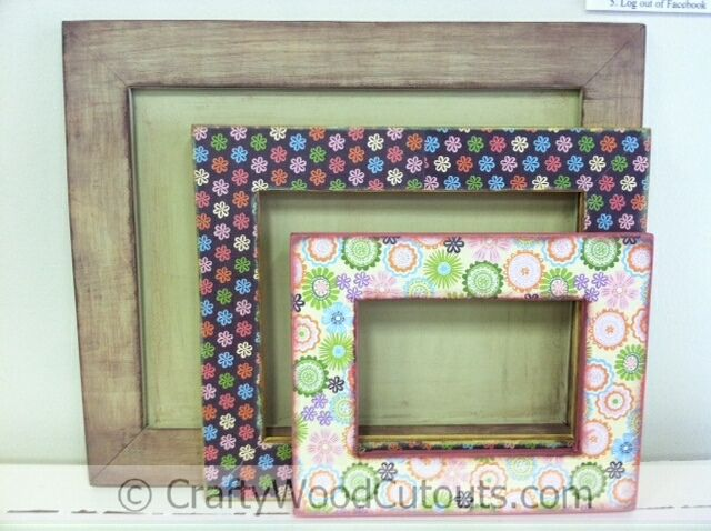 Image detail for -Wood Picture Frames – Birthday Crafts – And More » Crafty Wood ...