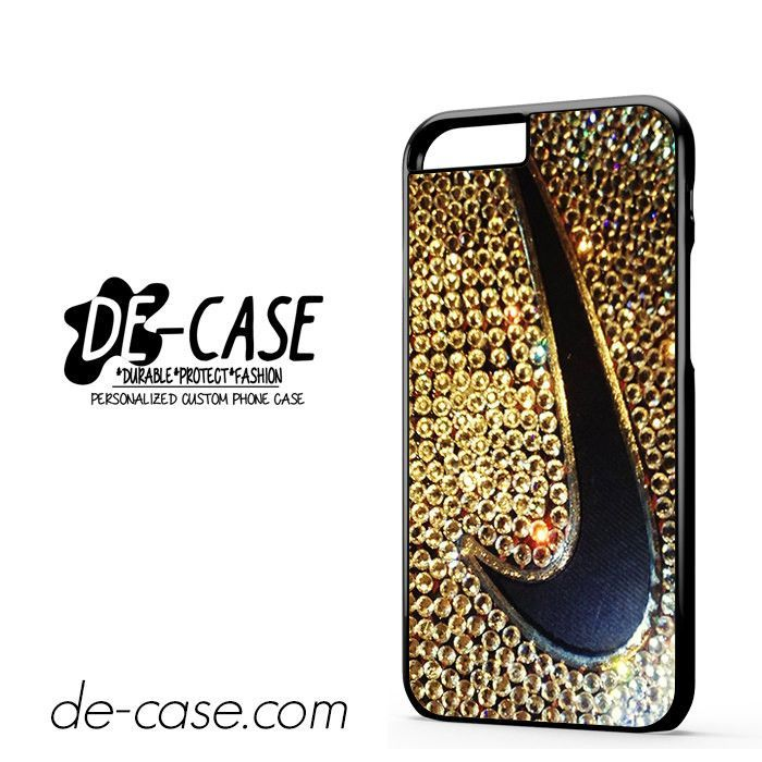 Logo Nike Gold Sparkle Blink DEAL-6615 Apple Phonecase Cover For Iphone 6 / 6S
