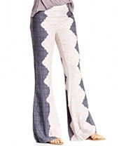 O'Neill Juniors' 'Zena' Printed Wide-Leg Soft Pants