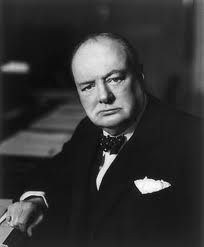 A nice quote by Winston Churchill