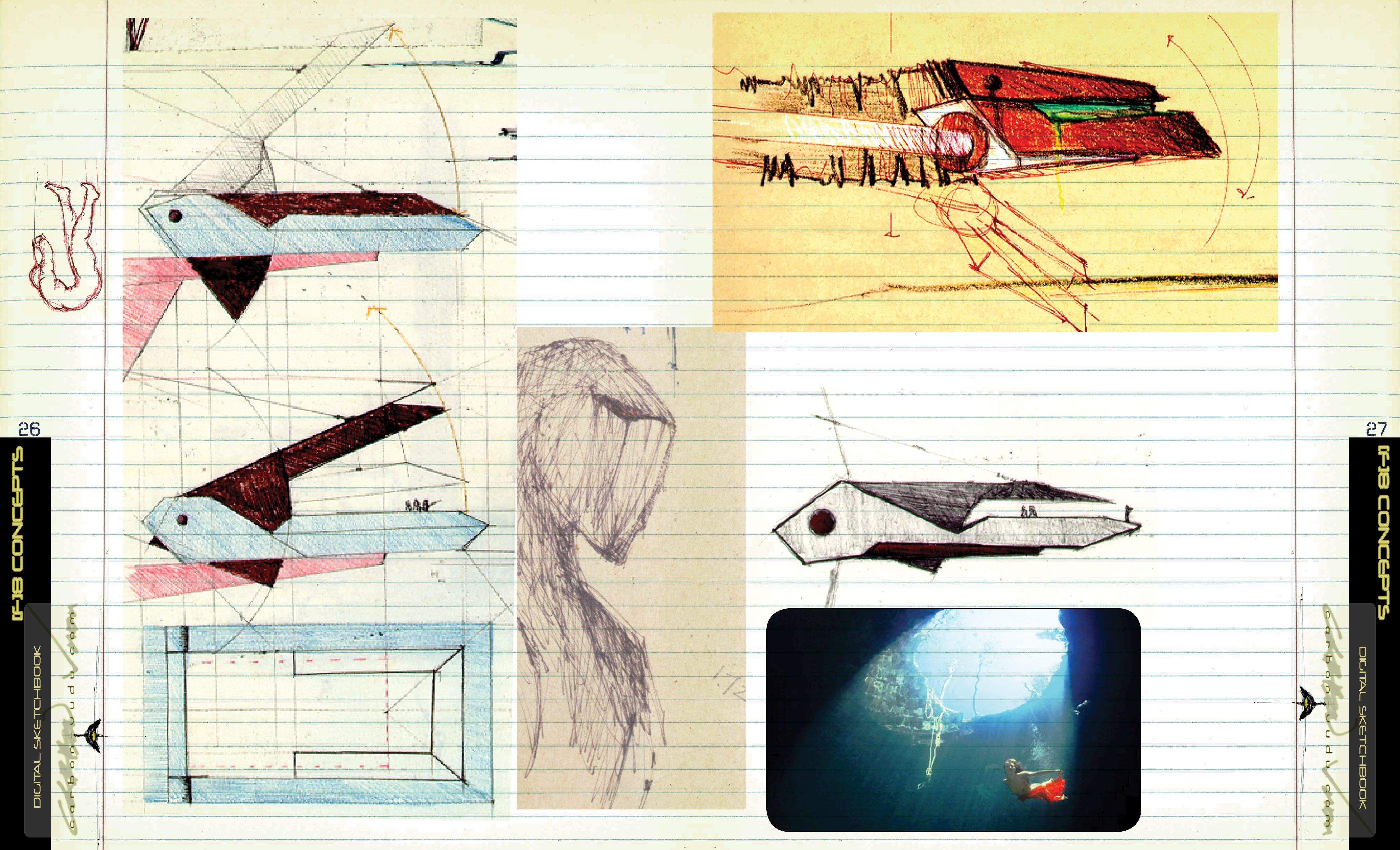 More architectural probes from the digital sketch