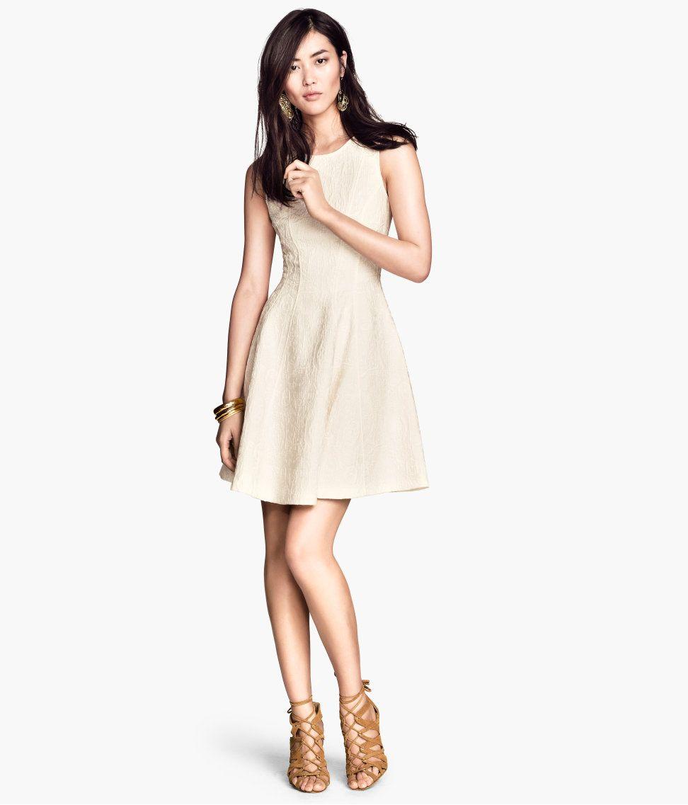 H&M, 34.95, naturweiß | Abschlusskleider, Weiße ...