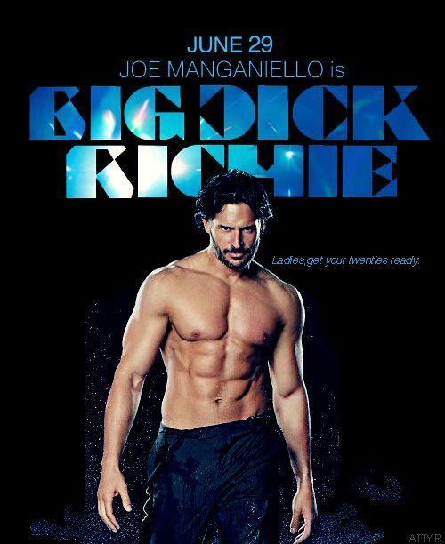 Joe manganiello big kurac richie