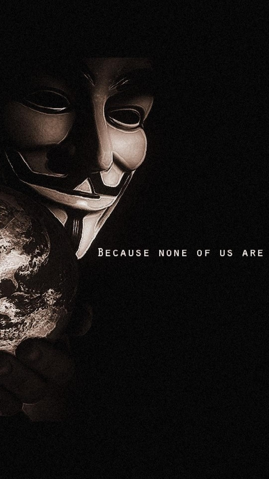 Anonymous Wallpaper Wide For Iphone