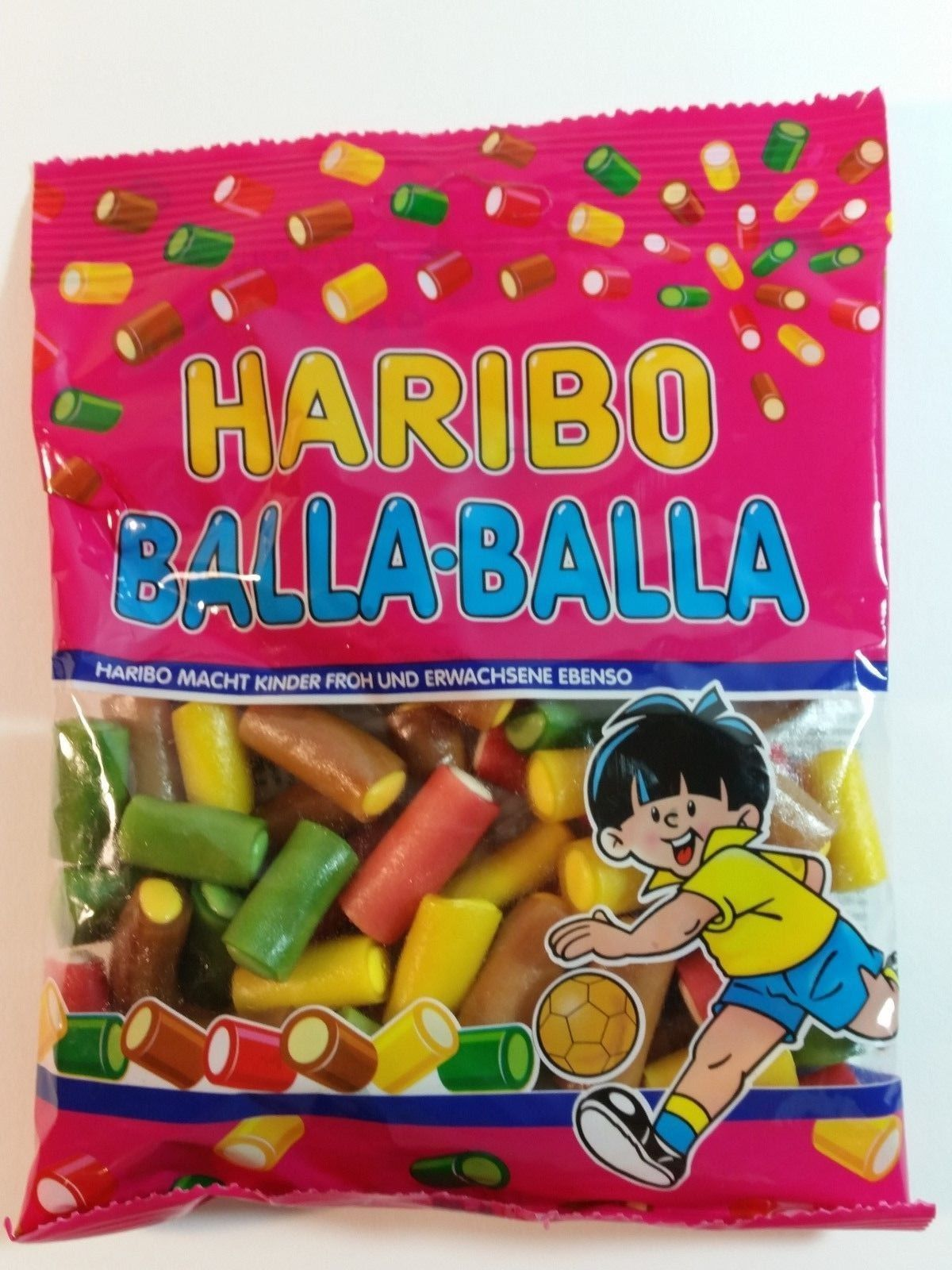 Haribo Balla-Balla - Candy Wine Gums 6Oz - 175G - Made In