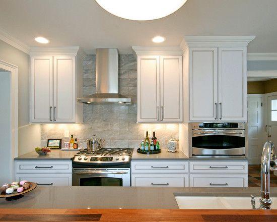 Glamorous Elegant Kitchen Design Inspiration: Fascinating Change Ardmore Kitchen Bright Interior Hidden Lamp