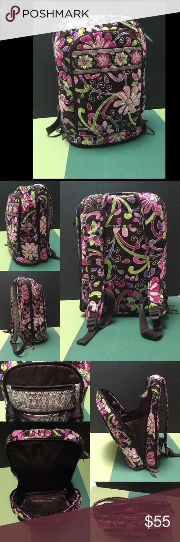 Vera Bradley Purple Punch Backpack Vera Bradley Backpack in Purple Punch.  Very good condition! d29886c724
