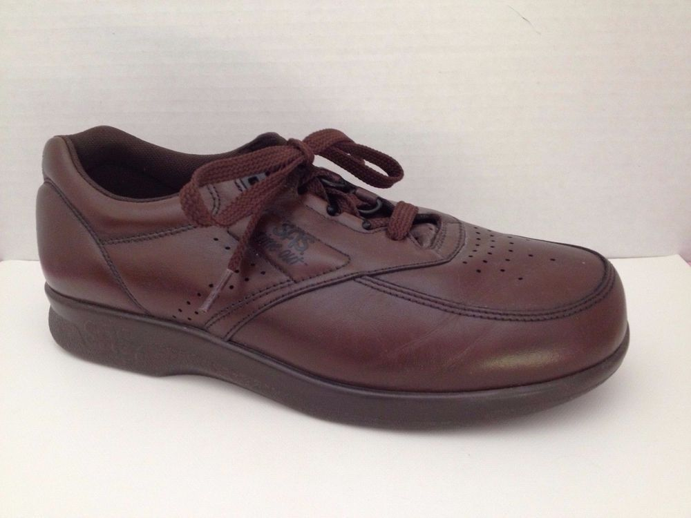 Sas Shoes Mens Size 65 M Brown Time Out 6 12 Made In Usa Lace Up