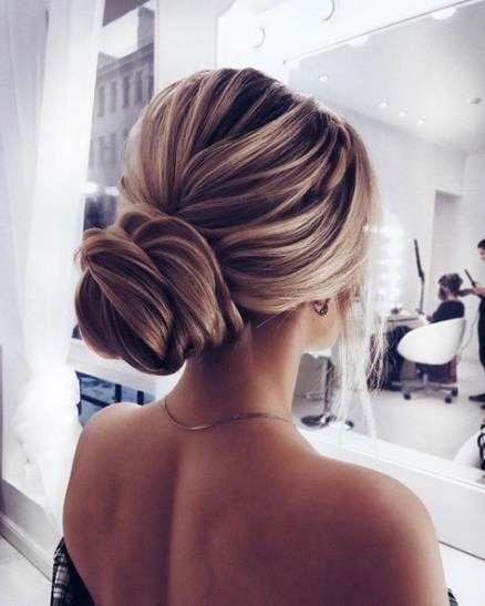 67 Ideas Wedding Hairstyles Bun Bridesmaid Hair Tutorials For 2019 #hair #wedding #hairstyles #forma...