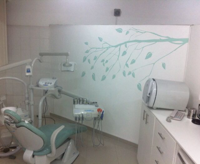 Odontologia vinil decoracion mi pasi n consultorio dental consultorio y dental - Decoracion clinica dental ...