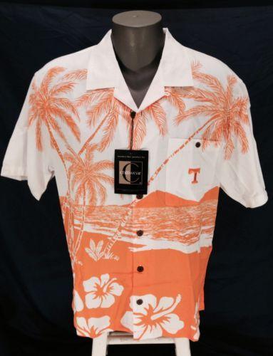 b9a9916c University of Tennessee Chiliwear Hawaiian Shirt Medium Vols ...