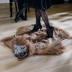 anyone with a zombie doorstop probably also has a Werewolf Rug