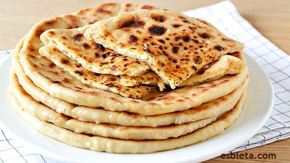 Khachapuri georgiano de queso o tortillas de trigo for Comida facil y sencilla