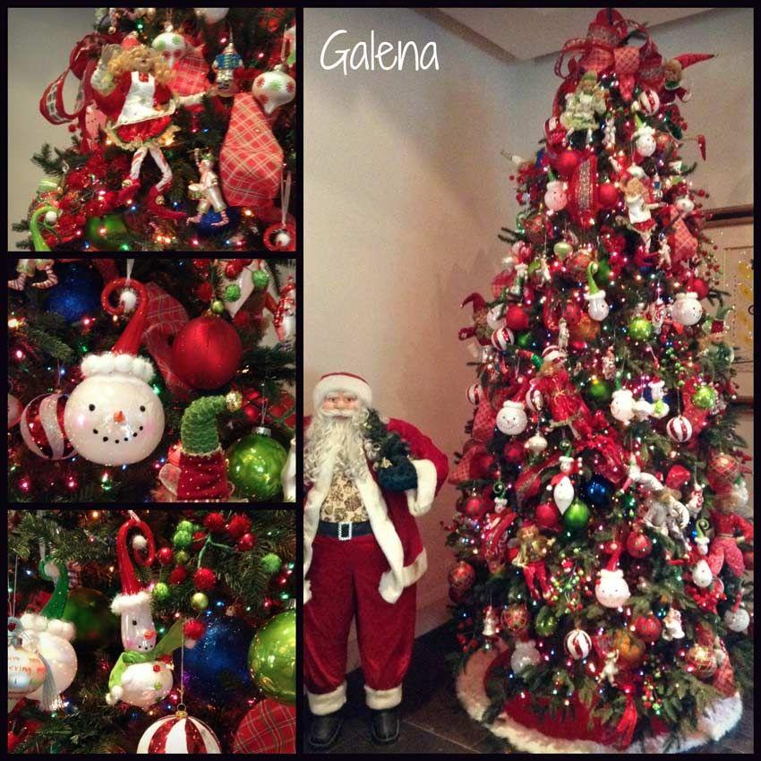 Navidad christmas decoracion arbol navide o de los monos - Decoracion de arboles navidenos ...