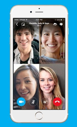 Skype will add free group video calling to its mobile apps