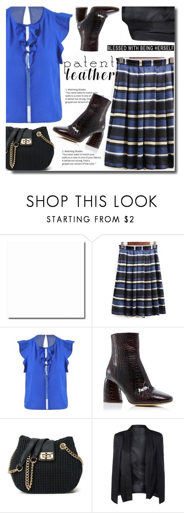 """Black and blue"" by soks ❤ liked on Polyvore featuring E L L E R Y and polyvoreeditorial"