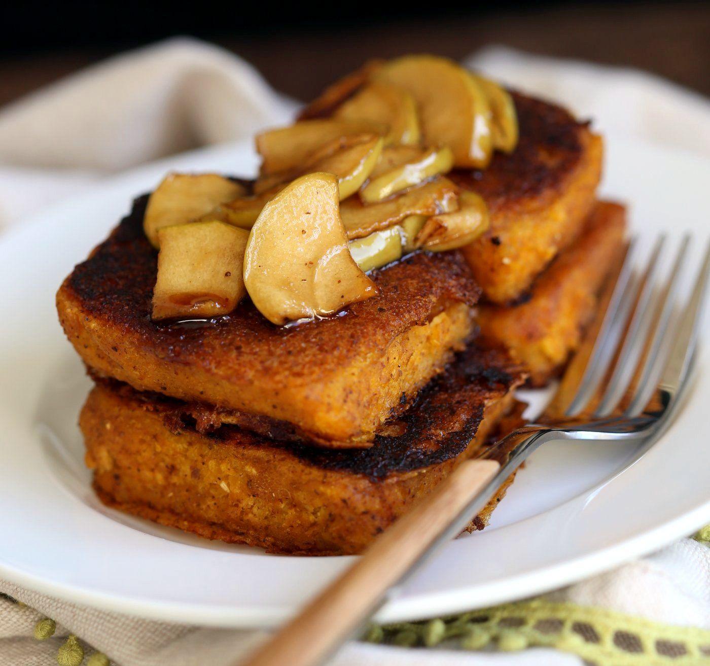 Vegan Pumpkin French Toast Vegan Richa Recipe Vegan Pumpkin Pumpkin French Toast Delicious Vegan Recipes