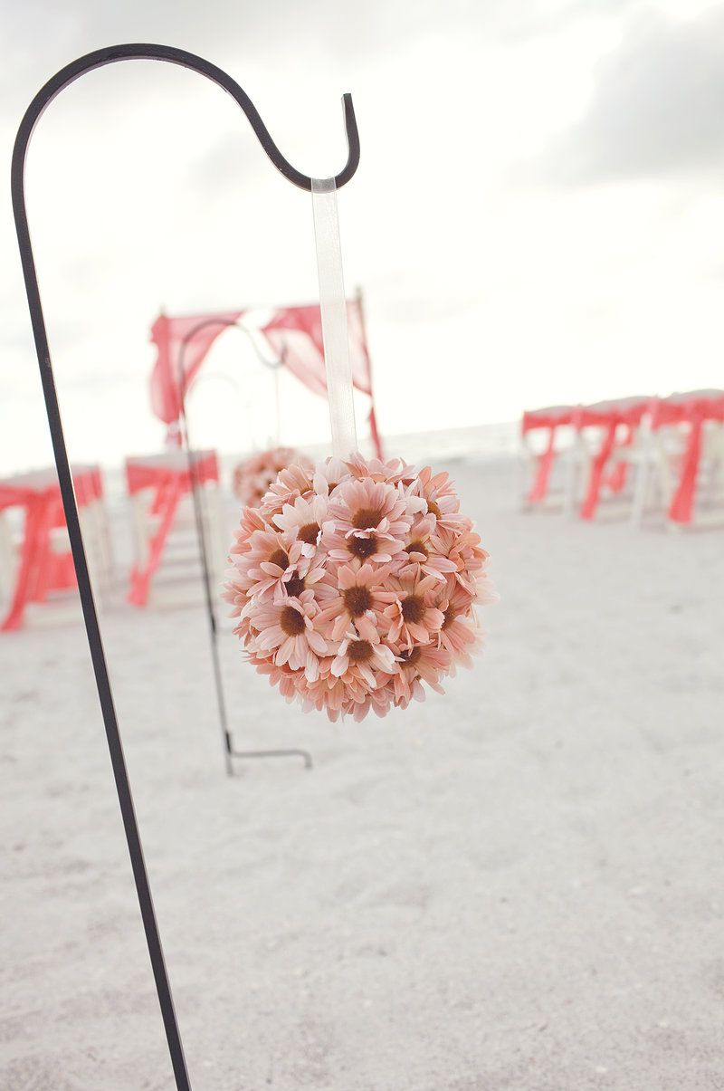 coral wedding.coral beach wedding set up with our bamboo canopy