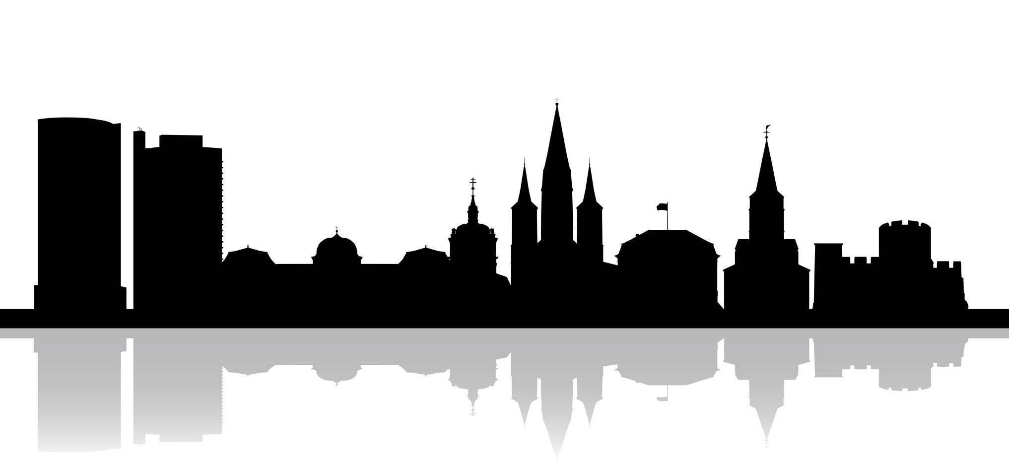 Silhouette Bonn (schwarze Skyline)   Stromsparer.de ...