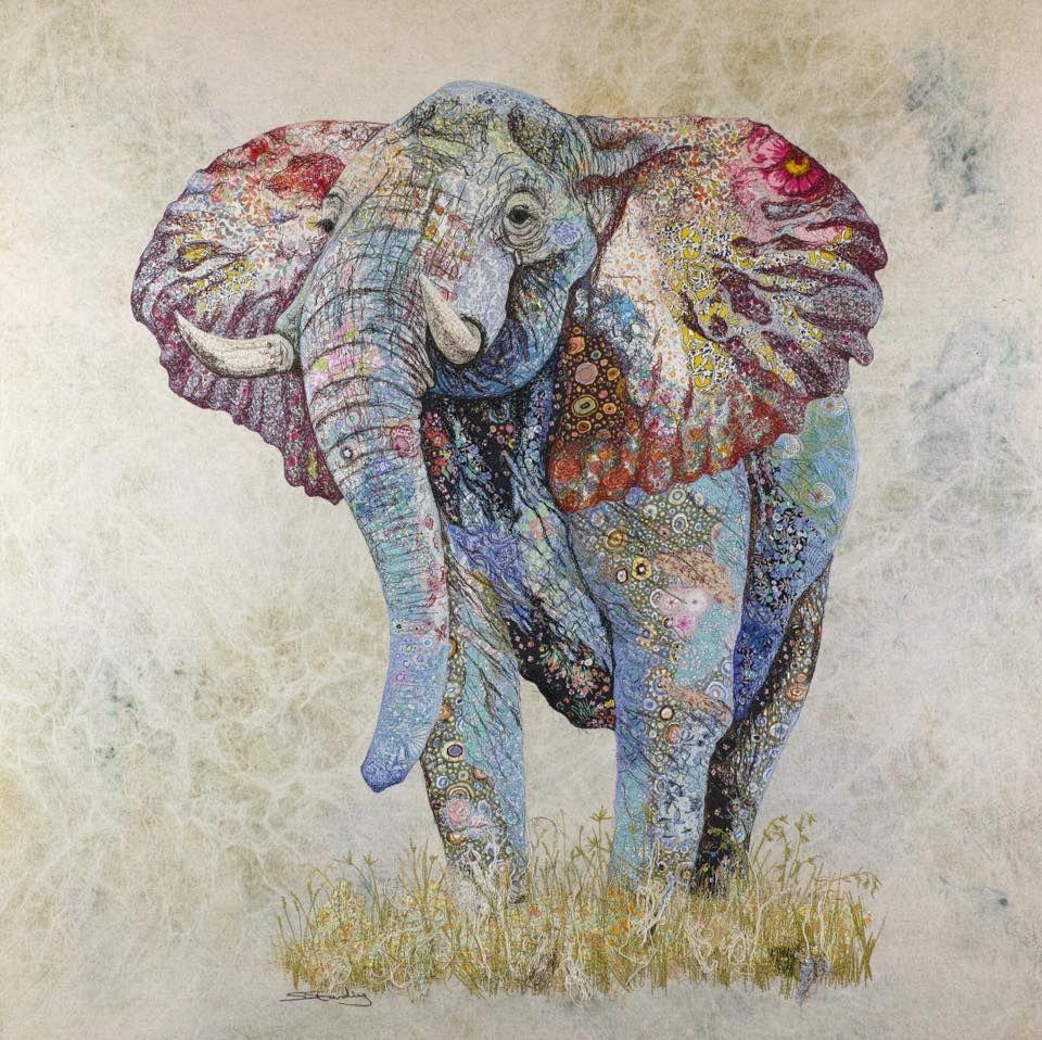 Pin von Natascha Lankes auf TextilArt (mit Bildern