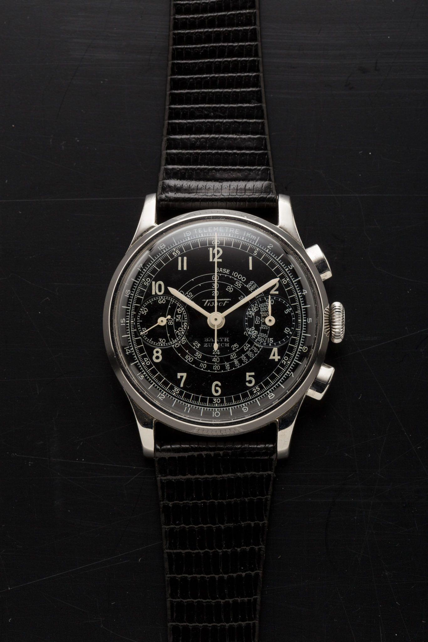1b9d0ee4212 TISSOT VINTAGE CHRONOGRAPH 15TL Relógios Antigos