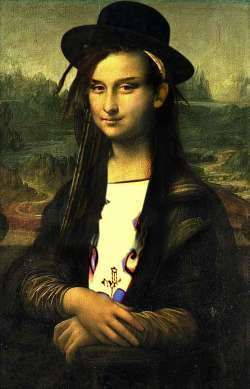 Mona Lisa Boy George Chameleon By Gustoblusto
