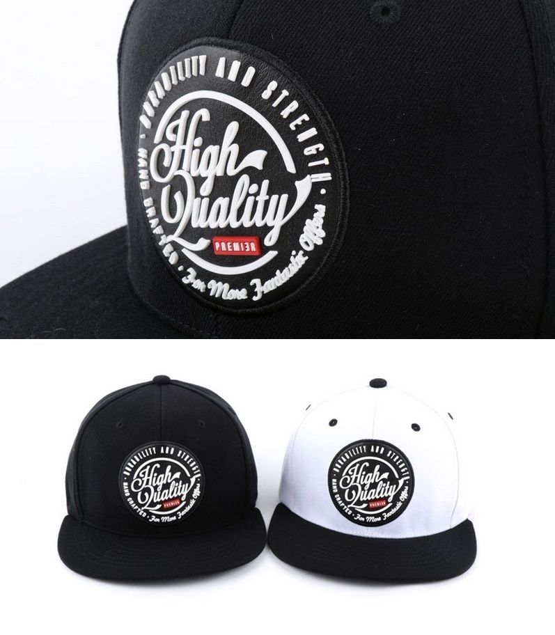 8d1f98e94ea32 High Quality cheap custom snapback hats hiphop flat baseball cap white  black  PREMIER  snapback
