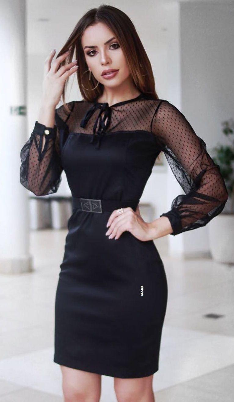 Pin By Ws Thiab Mim Vaj On Black Dress