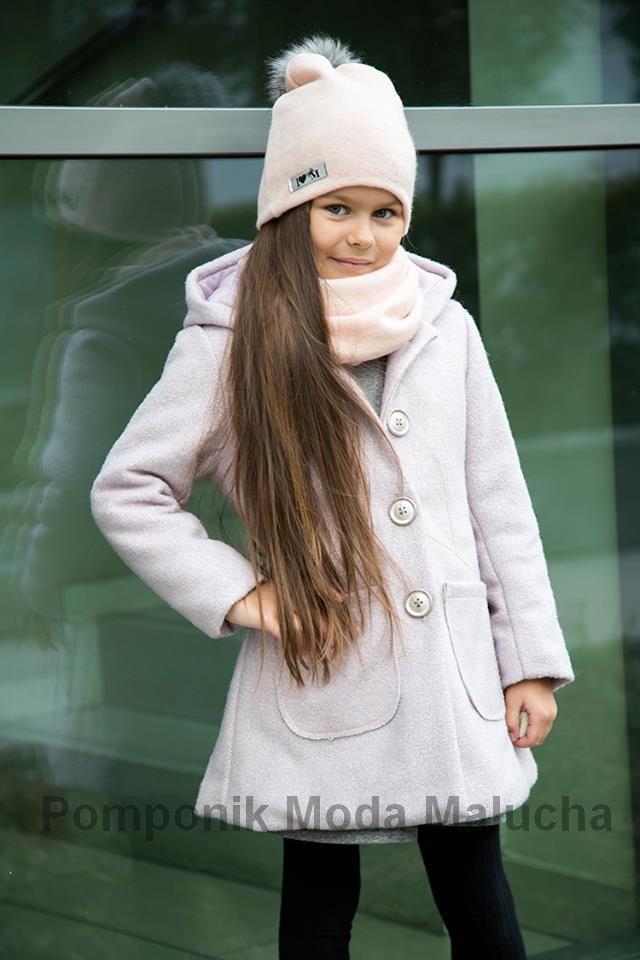 Elegancki Plaszczyk Dla Malej Damy Pomponik122 128 Winter Hats Fashion Raincoat
