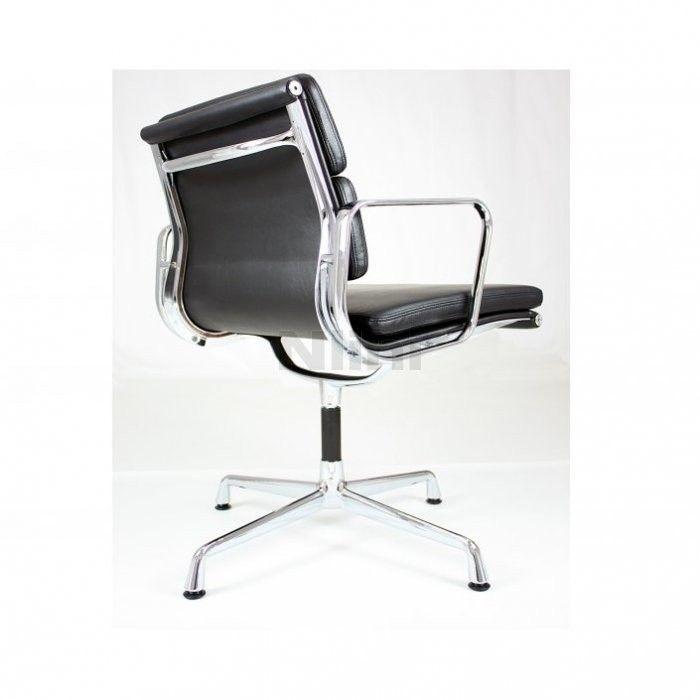 Charles & Ray Eames EA 208 Soft Pad stol (