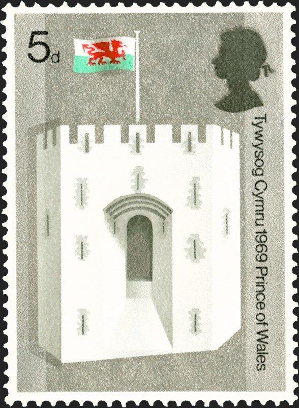 Royal Mail Special Stamps Arwisgiad Tywysog Cymru Investiture Of