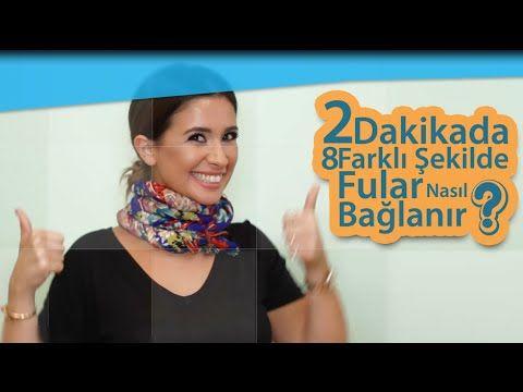 Fular Nasil Baglanir 2 Dk 8 Farkli Sekil Buse Terim Moda Haftalari Trendler Youtube