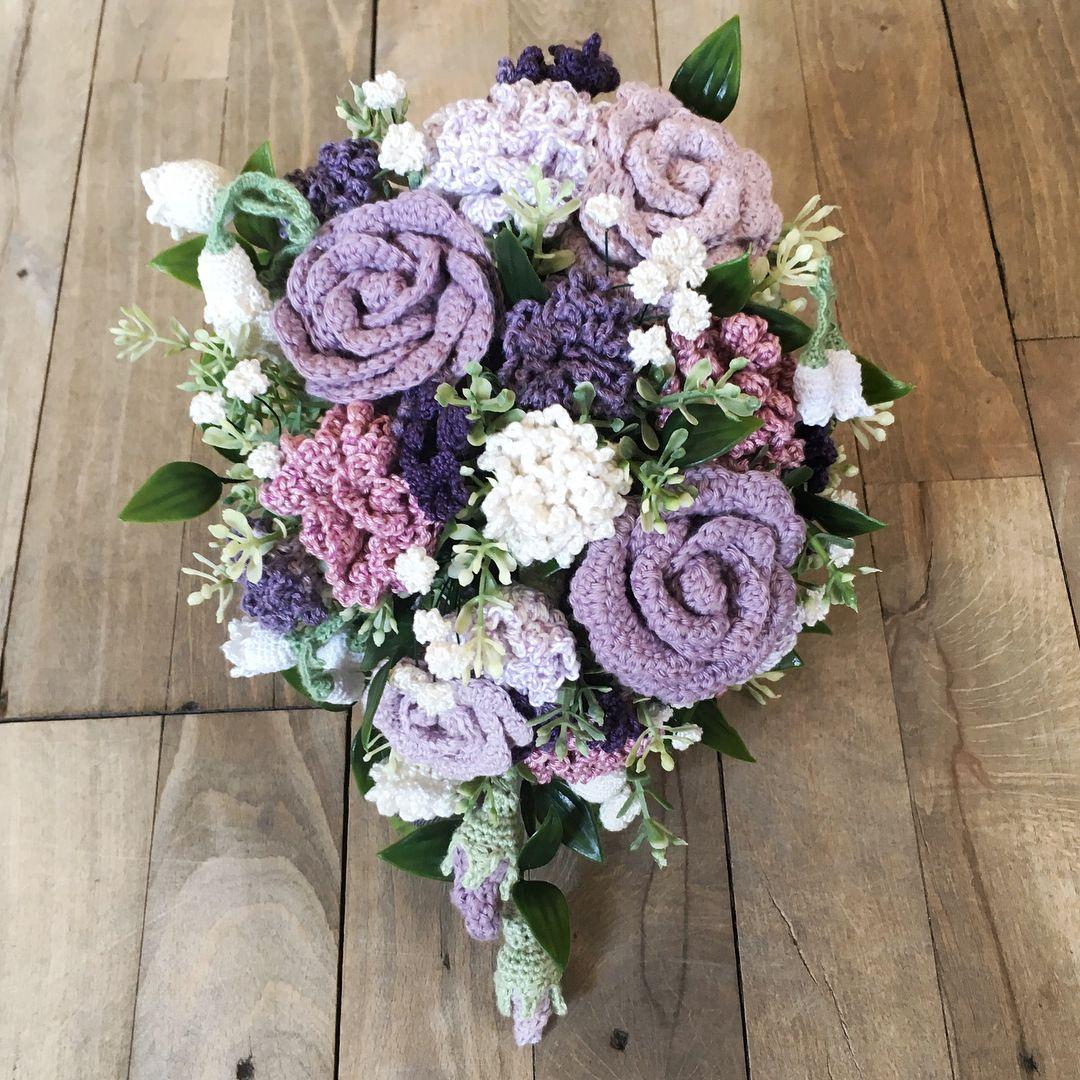 Diy crocheted flower bouquet by rikkewitten grenediy creative diy crocheted flower bouquet by rikkewitten grenediy izmirmasajfo