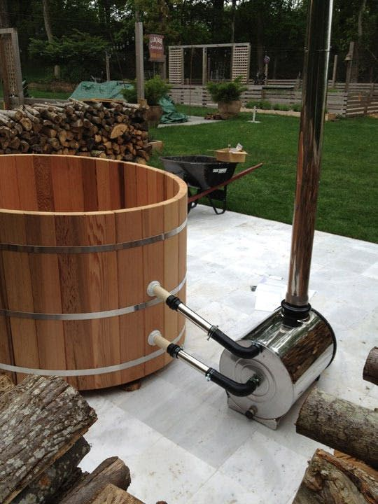 How To Assemble A Cedar Hot Tub Amp Chofu Wood Stove Hot