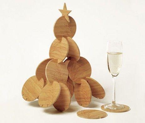 BAMBUM The Christmas tree made of coasters