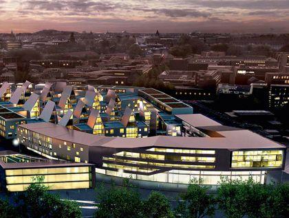 Wettbewerb - Mercator Quartier - Duisburg, Germany GEWERS & PUDEWILL