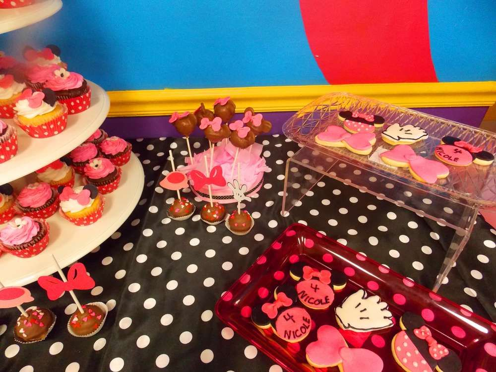Minnie Mouse Birthday Party Ideas Photo 1 of 6 Catch