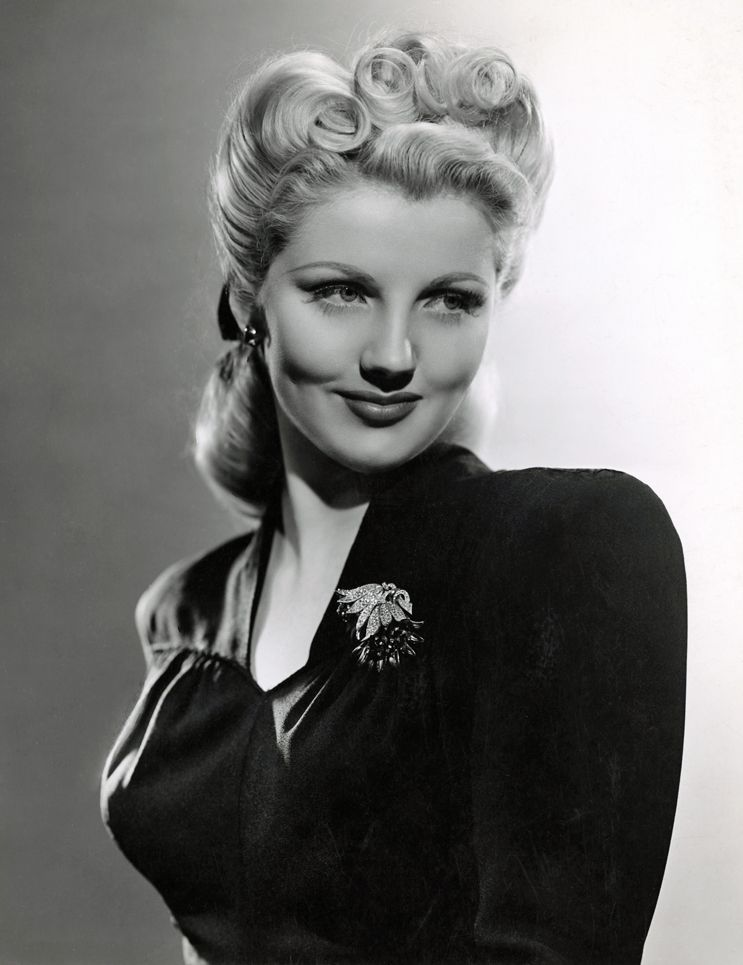 Adored Vintage 12 Vintage Hairstyles To Try For: Dolores Moran (1926-1982), 1942
