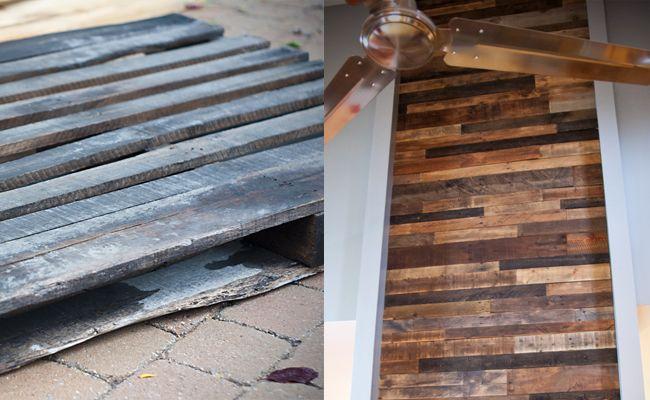 un mur de planches de palettes scandinave deco pinterest murs de planches planches de. Black Bedroom Furniture Sets. Home Design Ideas