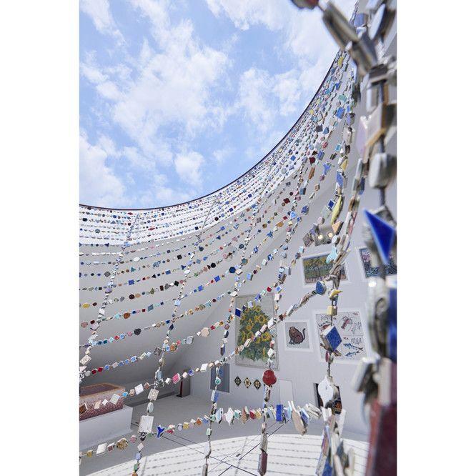 藤森照信が設計 監修したモザイクタイルの博物館 オープンです 藤森 照信 モザイクタイル 藤森