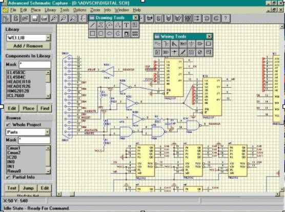 2c7b20079e0db7743c3e72c817ab2c05 a collection of free and paid circuit drawing softwares which can design electrical schematic at edmiracle.co