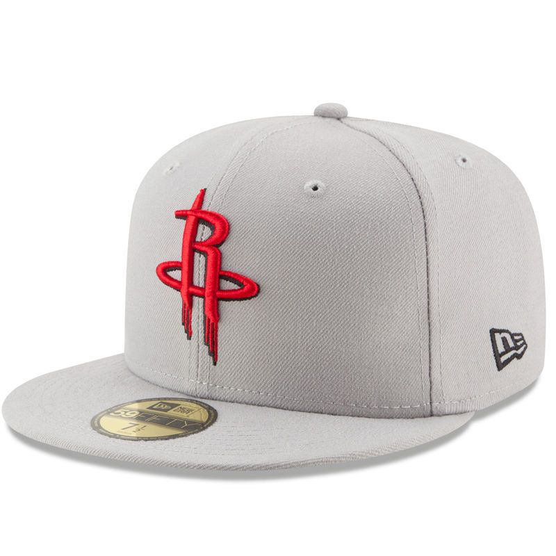 super popular ee357 19253 ... order houston rockets new era state stare 59fifty fitted hat gray 51048  1fc73