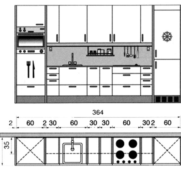 Restaurant Kitchen Layout Autocad: Plan Cuisine Gratuit : 20 Plans De Cuisine De 1 M2 à 32 M2