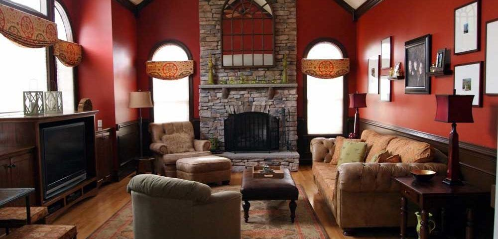 Red Wall Designs For Living Rooms Wiki Homes #red #wall #living #room #ideas