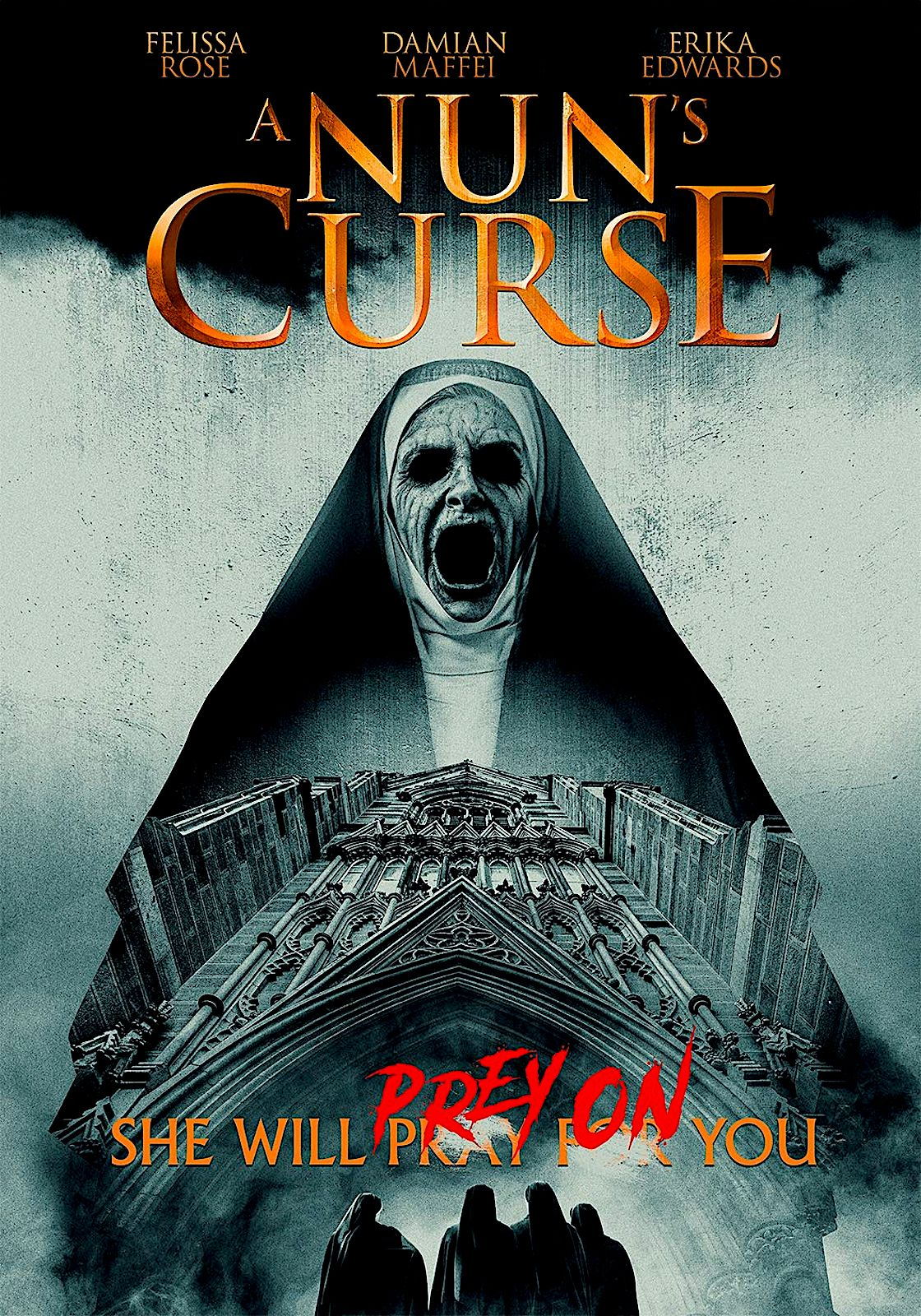 A Nun S Curse Dvd Uncork D Entertainment Upcoming Horror Movies Movies To Watch Online Latest Horror Movies