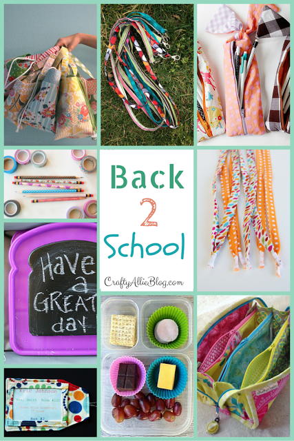 Crafty Allie: Getting Ready for Back to School!