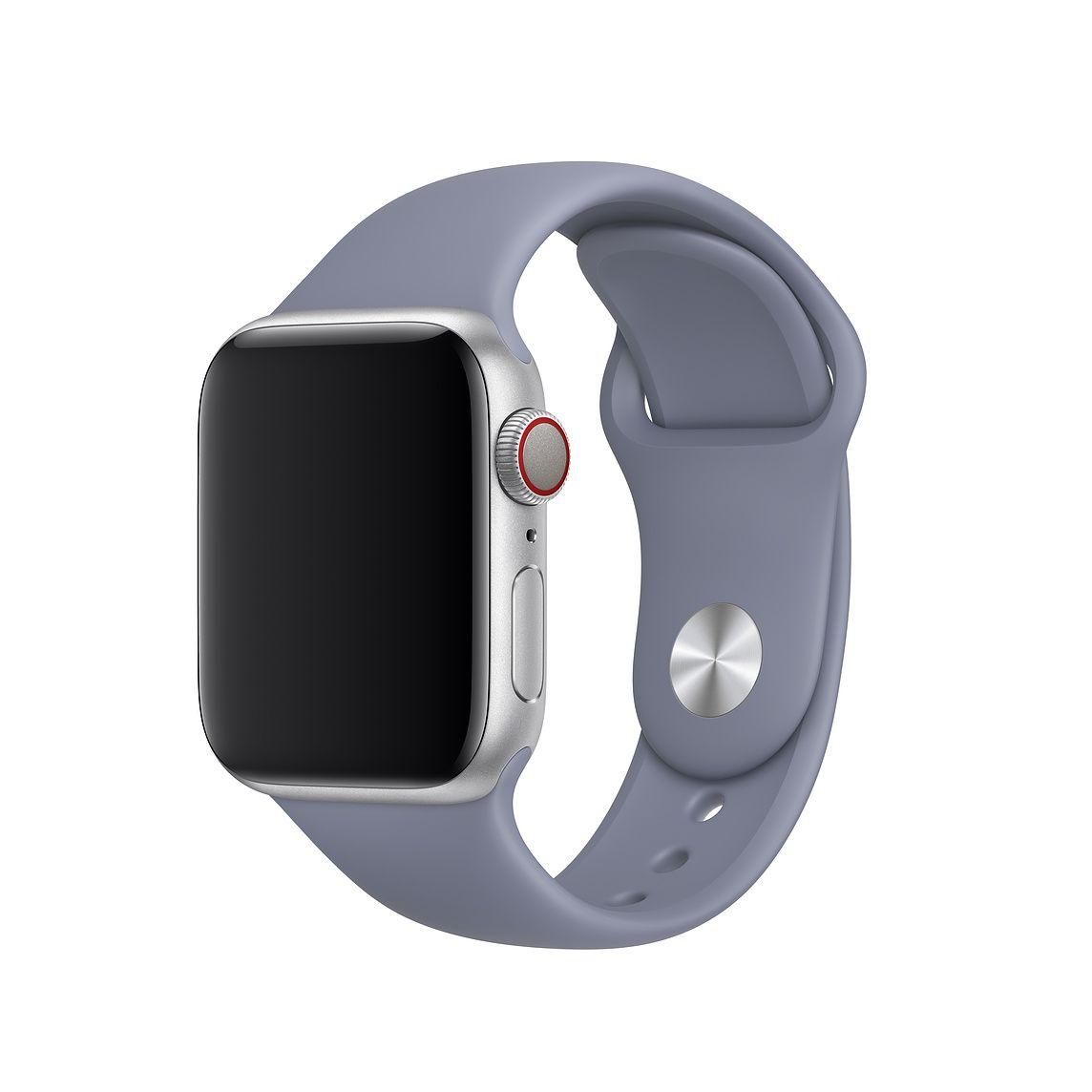 40mm Lavender Gray Sport Band S M M L Apple Apple Watch Kaufen Apple Watch Zubehor Apfeluhr
